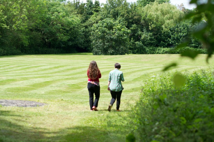 The beautiful grounds at SPEC are an opportunity for lots of walks, chats and reflection (Photo: WYM)