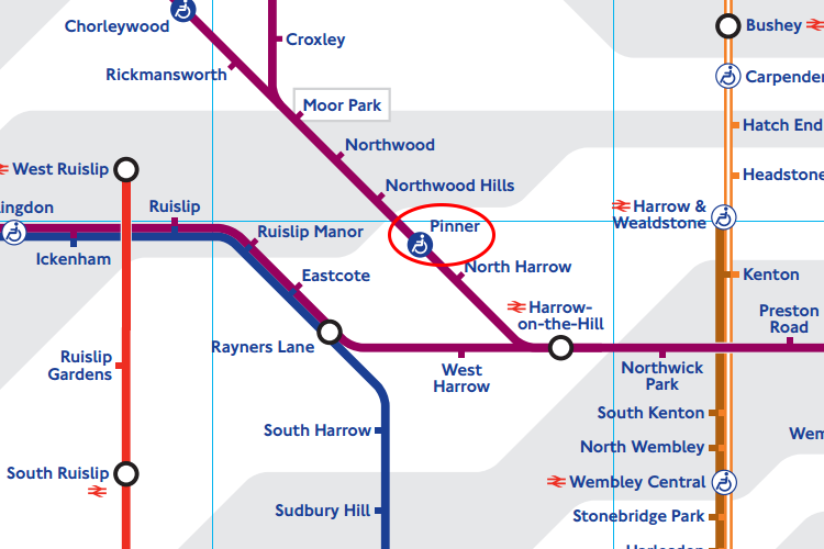 The nearest tube station to SPEC is Pinner