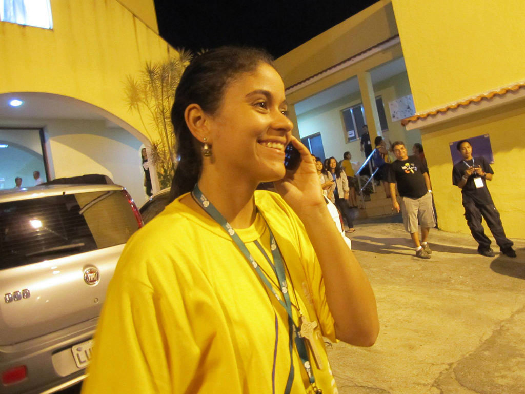 Bruna was the accommodation coordinator for her parish during World Youth Day Rio 2013