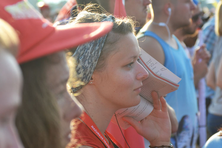 A young woman at World Youth Day (Photo: WYM)