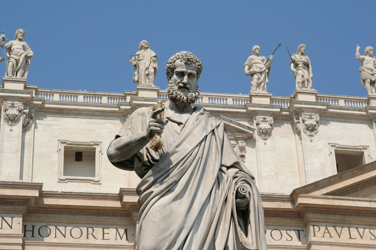 A statue of Saint Peter in the Vatican City (Photo: WYM)