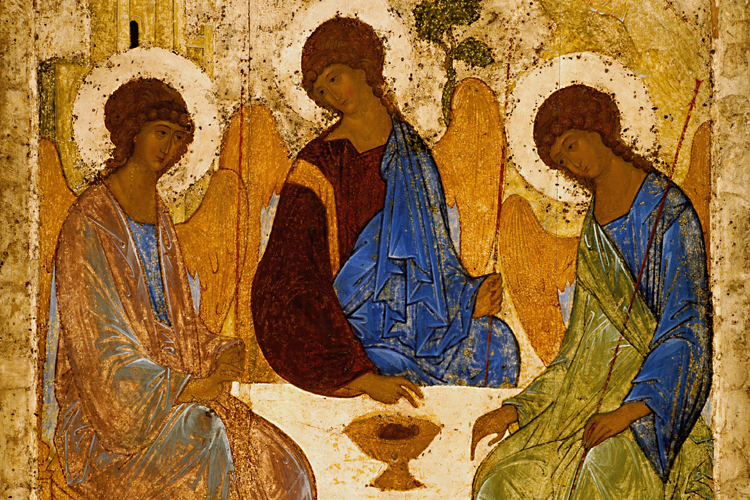 The Trinity is the one God in three persons, Father, Son and Holy Spirit.