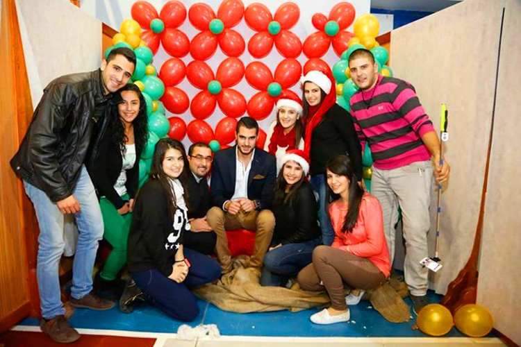 Rula and friends preparing for Christmas in Beit Sahour