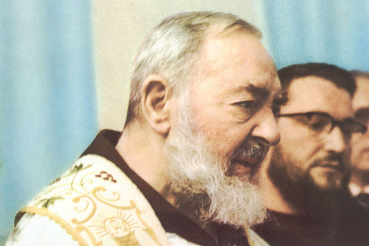 Padre Pio was born in the small town of Pietrelcina, Italy, on 25 May 1887. Although his family were poor in material goods, they were certainly rich in their faith life and in their love of God.