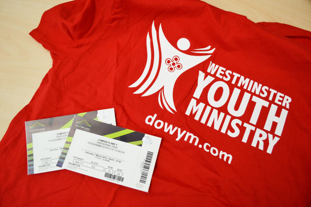 Westminster will be making up a large proportion of the Flame 2 attendees
