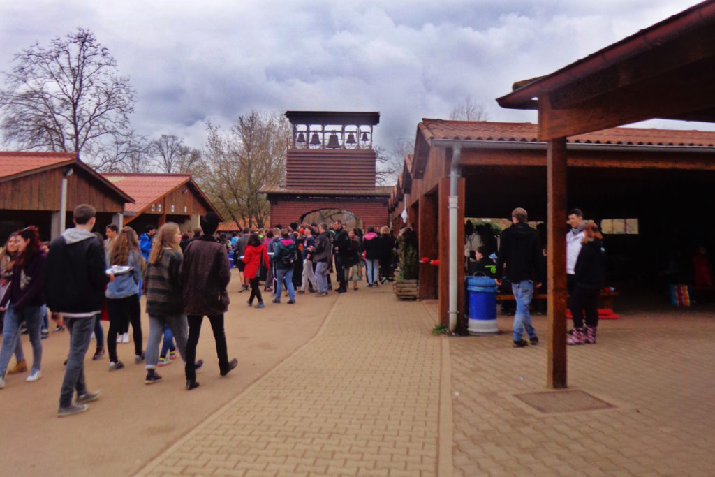Thousands of young people gather every week at Taize. It's like a mini World Youth Day!