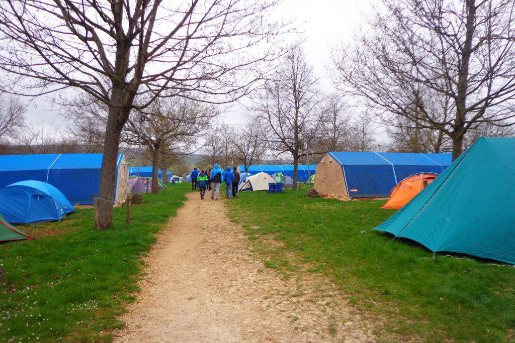 People camp and stay in dormitories. In August 2015, Westminster Youth Ministry will be camping out all-together. Don't worry, it's warm in August!