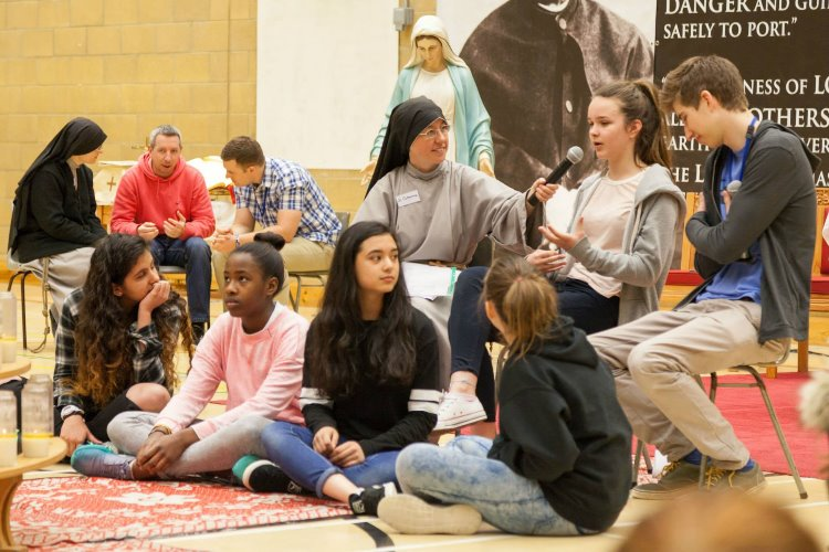 Retreats are great opportunities for young people to ask questions and find answers