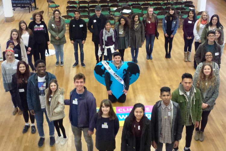 A CAFOD Youth Leadership Programme meeting
