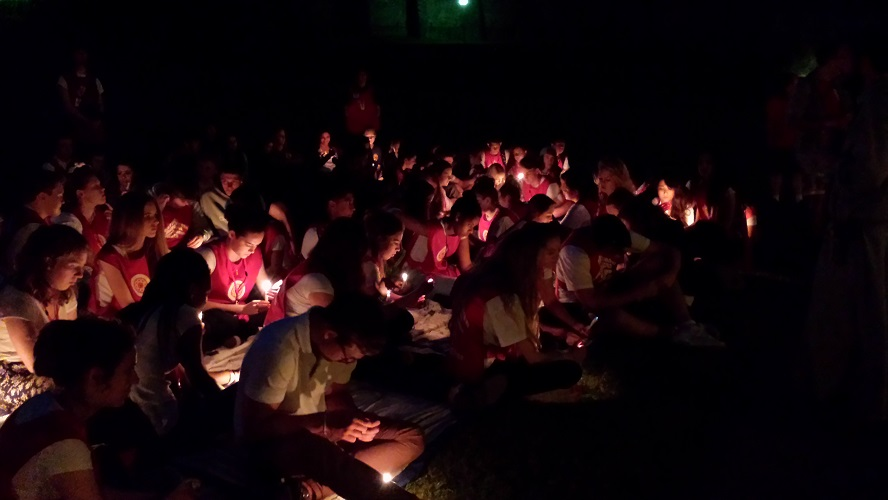 Night prayer and reflection on the prairie