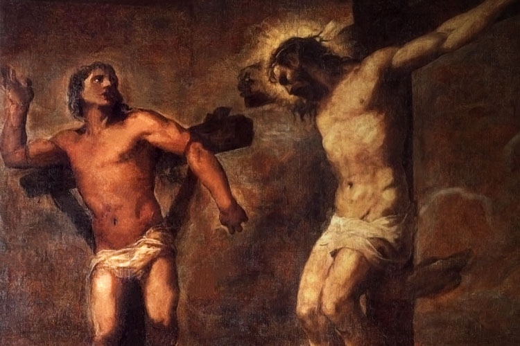 It's never too late to repent and convert - Saint Dismas is a great example of this!