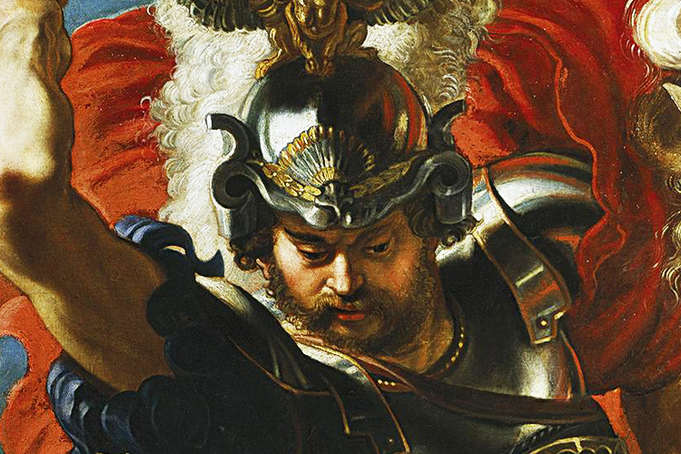 Saint George is the patron saint of England; a noble knight who fought against a dragon in an epic battle and consecrated himself to the sign of the cross.