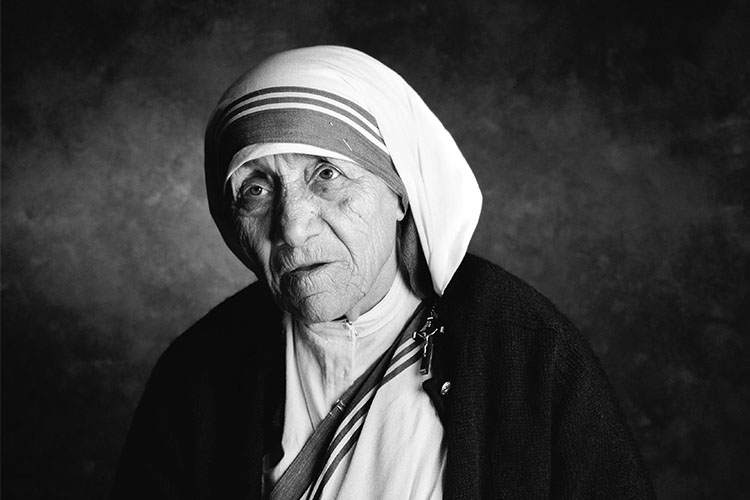 Born Agnes Gonxha Bojaxhiu in 1910, Saint Mother Teresa of Calcutta was a remarkable woman who strongly believed in serving and seeing God in the least of society.