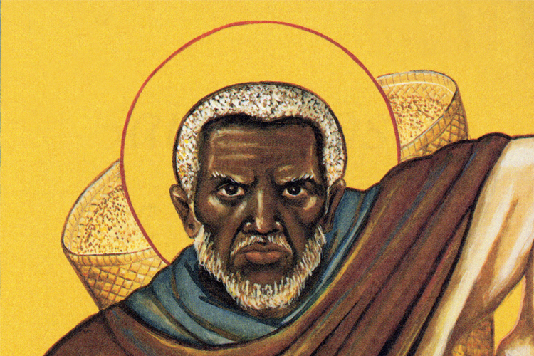 A saint for our times, Moses used to be a violent man of revenge, but turned to a path of non-violence and eventually became a saint.