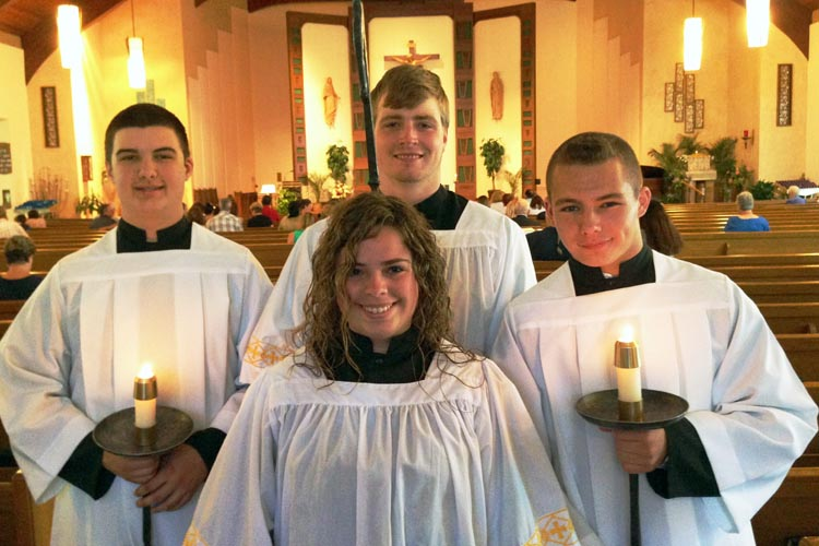 Whether marriage, consecrated singlehood, religious life or priesthood, altar serving can help you understand your vocation