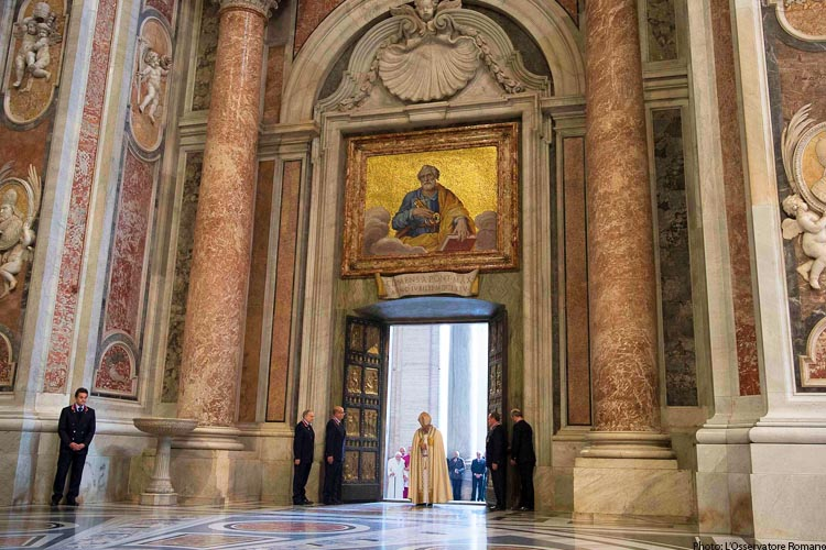 Pope Francis Year of Mercy Door