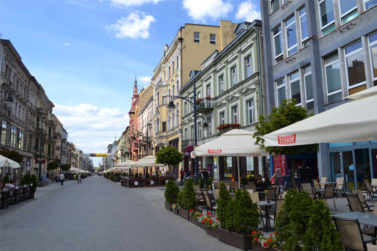 Piotrkowska Street (Photo: Westminster Youth Ministry)