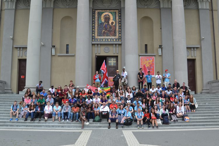 The Westminster pilgrimage in Łódź at Our Lady of Victory (Photo: WYM)