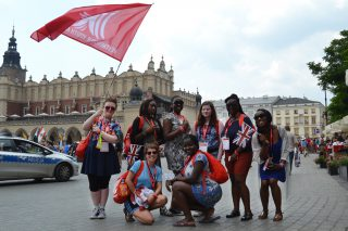 World Youth Day pilgrims in the Main Square of Krakow (Photo: WYM)