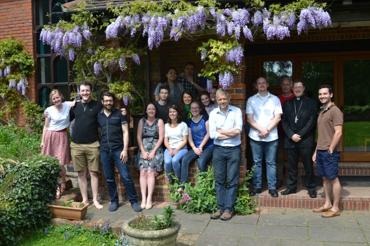 Volunteer Missionaries and Core Team and the SPEC Retreat Centre in London (Photo: WYM)
