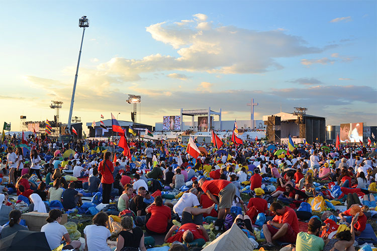 Massive crowds came for the Final Mass at World Youth Day (Photo: WYM)