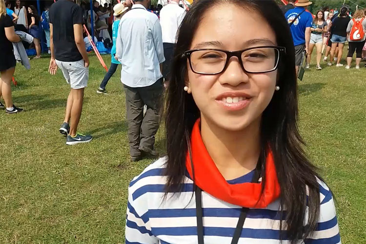 World Youth Day interviews with pilgrims