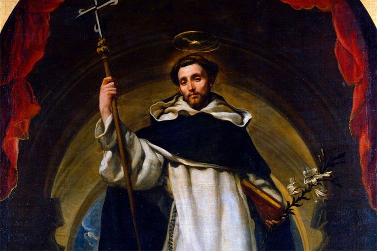 Saint Dominic is probably one of the more well-known saints due to his establishing of the Dominicans and success spreading devotion to the rosary.