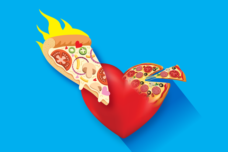pizza-heart-love