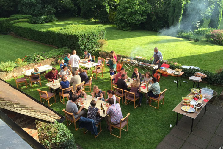 A summer barbecue at SPEC (Photo: SPEC)