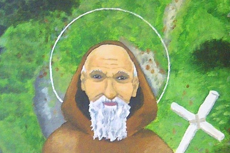 Saint Nectan of Hartland was born in Ireland but his family moved to Wales at a young age. He was the oldest of 24 children.