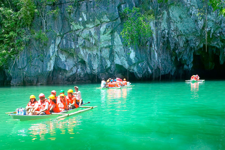 The Subterranean National Park in Palawan