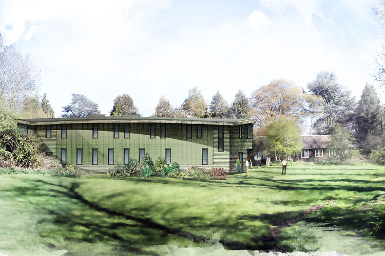 An artist's impression of the Ark, at the SPEC residential retreat centre