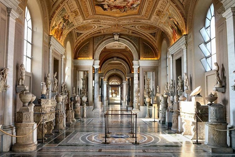 The Vatican Museums (Photo: ThingLink)