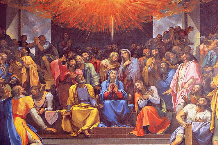 Pentecost themed meditation