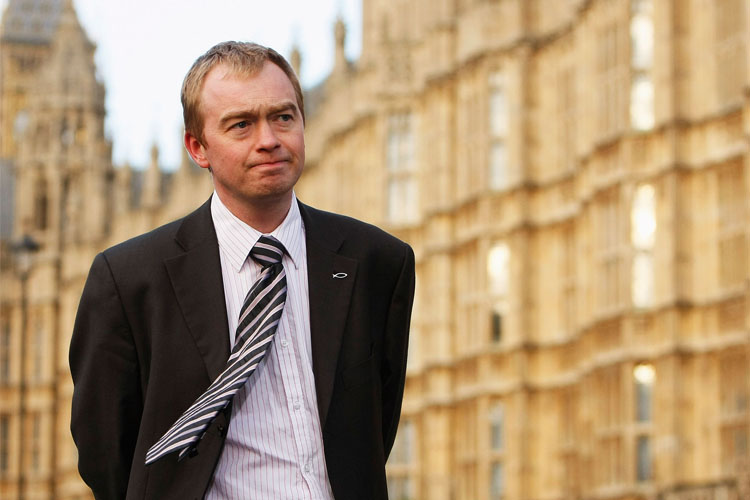 Former Liberal Democrat party leader Tim Farron