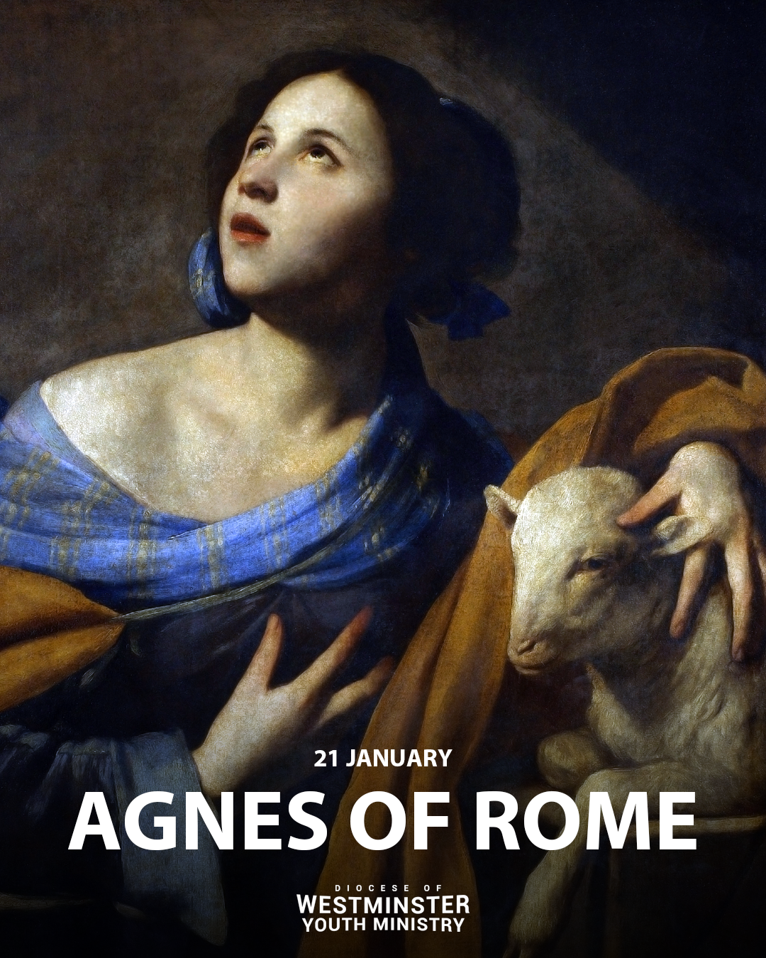 Today is the Feast Day of Saint Agnes of Rome. She is a patron saint of chastity and purity.