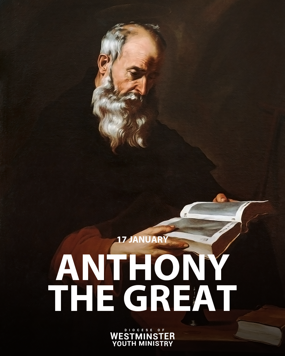 Today is the Feast Day of St Anthony the Great
