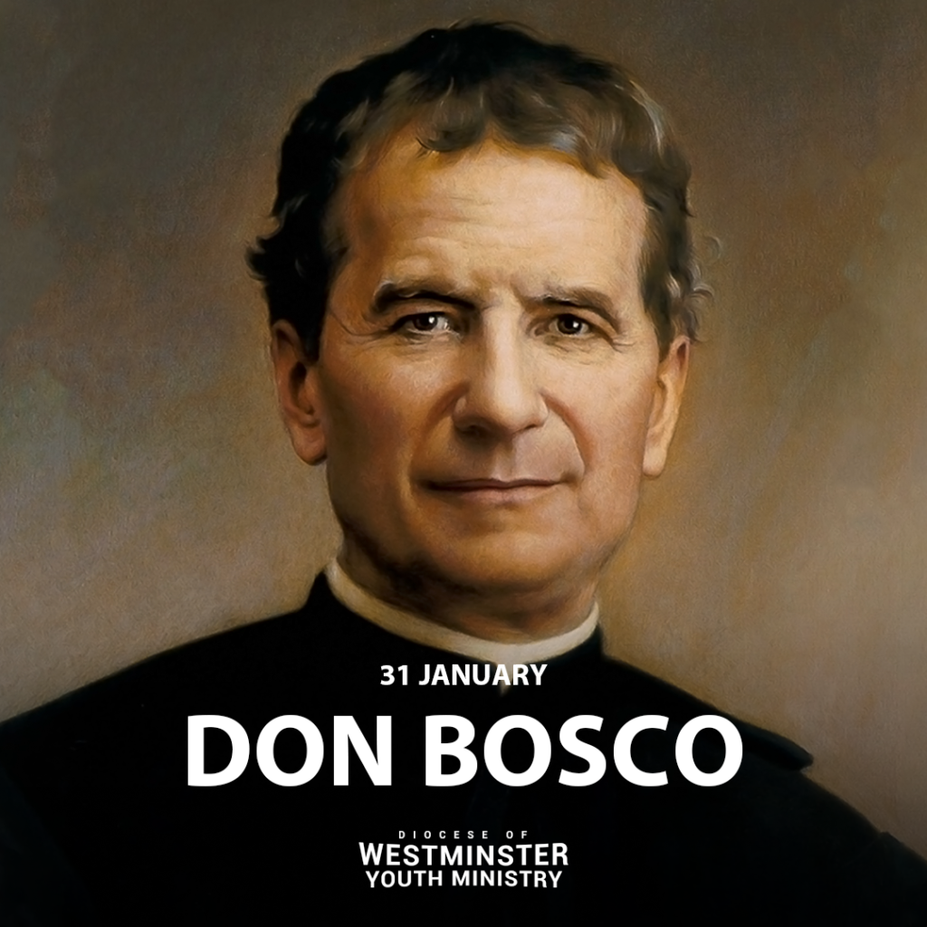 Today is the Feast Day of Saint Don Bosco. May the patron saint of young people inspire the youth of the Church towards the true, the good and the beautiful!